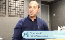 Nigel van Zyl of Proskauer Rose speaks with Unquote