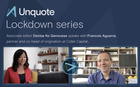 Unquote Lockdown series episode 3 with Francois Aguerre of Coller Capital